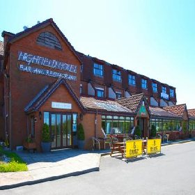 Highfield Hotel - Hotel with Smoking Rooms in Houghton-le-spring